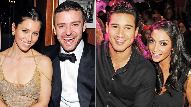 Timberlake and Biel Might Be Engaged, Mario Lopez Definitely Engaged