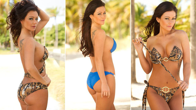 JWoww's Stick-On Bikinis Are So Slutty, They Defy Physics