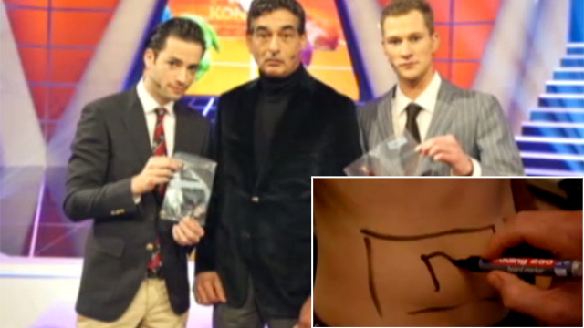 Dutch TV Hosts Dine On Each Other's Flesh
