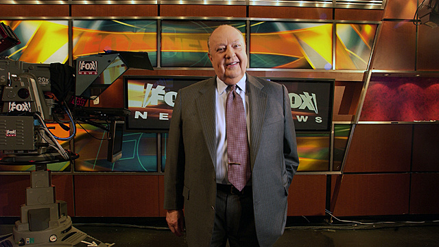 Roger Ailes to Craft Book-Length Cascade of Lies