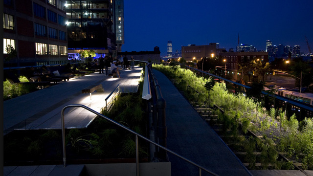 What's the Naughtiest Thing You've Done on the High Line?