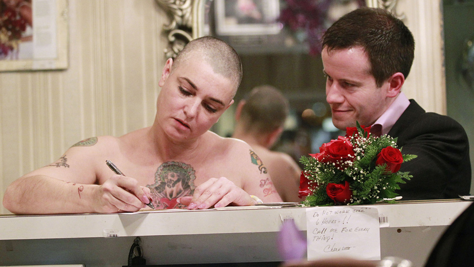Sinead O'Connor's Wildly Inappropriate Wedding Announcement