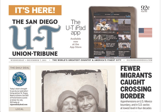 New Slogan Proves San Diego Paper Is Owned by Nut