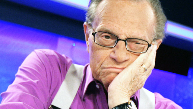Larry King to be Cryogenically Frozen