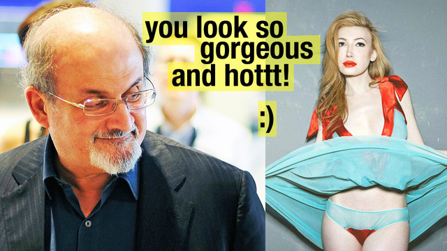 Salman Rushdie's Facebook Seduction and Break-Up with a Crazed Reality Star