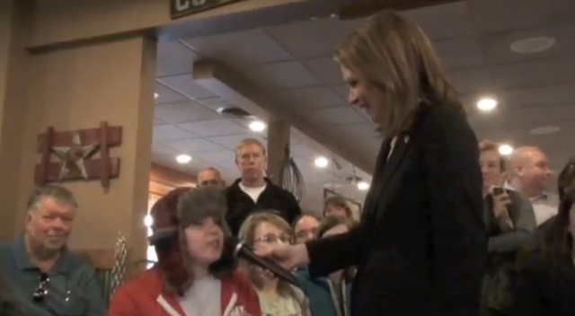 Hero High School Student Fights Michele Bachmann Over Gay Marriage