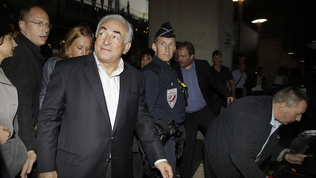 Strauss-Kahn Now Claiming that Maid 'Stared Unabashedly at His Organ'