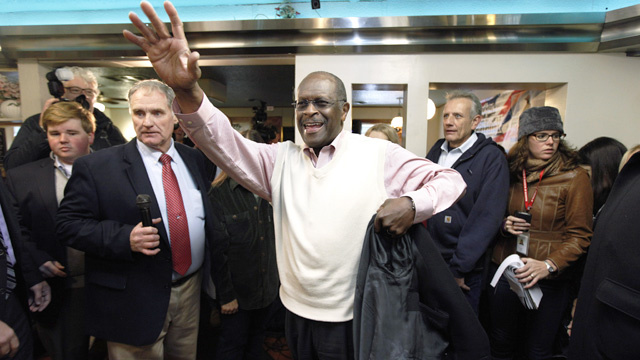 Have You Seen Herman Cain 'Drinking Like a Fish'?