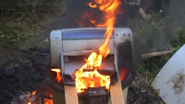 Hackers Could Turn Your Printer Into a Flaming Death Bomb