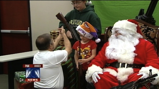 'Santa and Machine Guns' Makes Christmas Fun Again