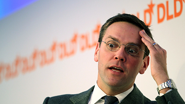 James Murdoch Resigns as Director of News Corp's British Newspapers