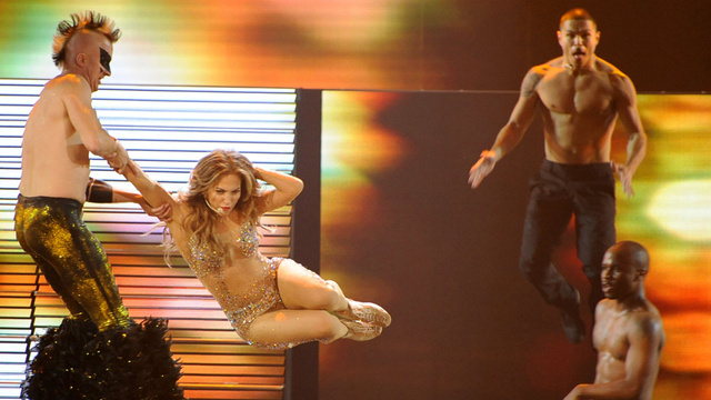 Jennifer Lopez Was Giving Lap Dances to a Man Half Her Age