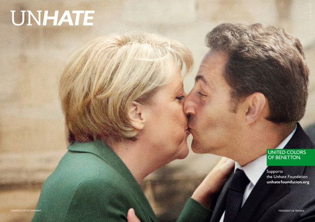 Just When You Thought You'd Never Have to See Another Benetton Ad