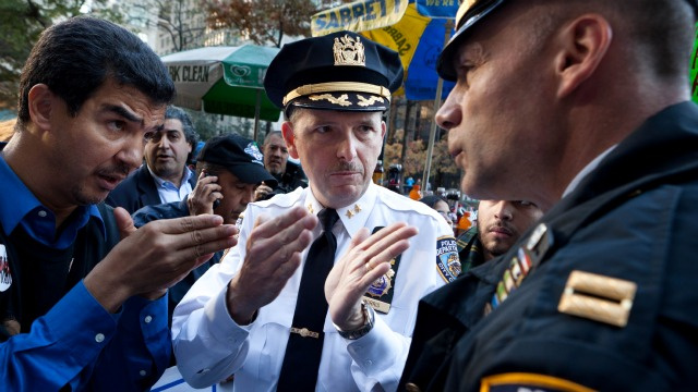 Hero Cops Arrest NYC Council Member at 'Occupy' Raid