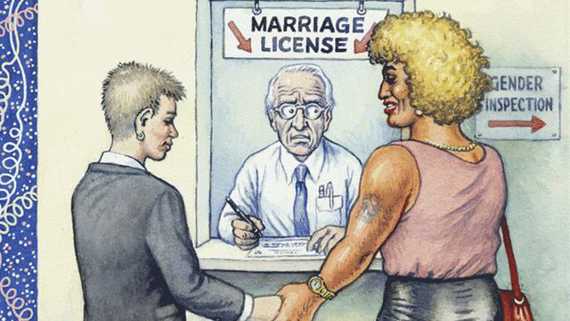 Was R. Crumb's New Yorker Cover on Gay Marriage Worthy of Rejection?