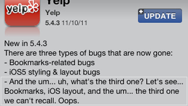 Yelp Adds to Rick Perry Pile-On