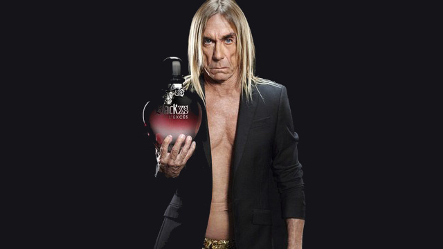 Iggy Pop is the New Face of Paco Rabanne Perfume