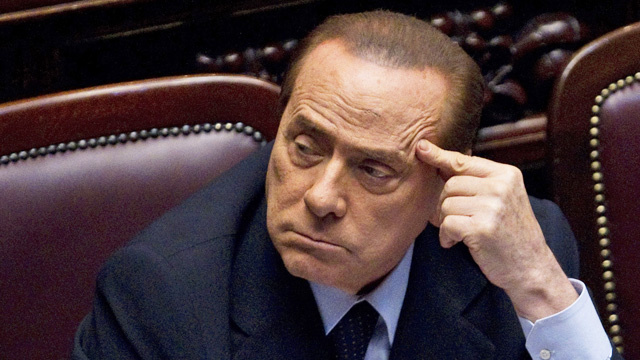 At Last! Silvio Berlusconi Says He'll Resign
