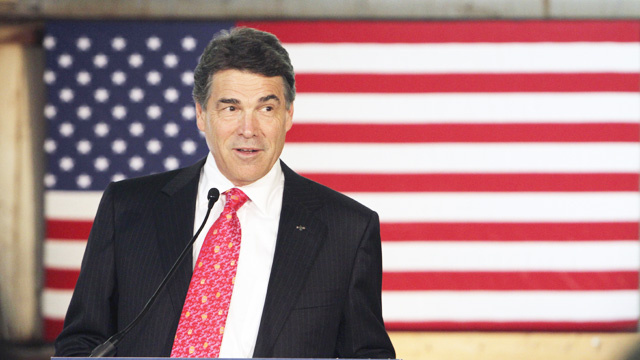 Rick Perry Is Done Making Dumb Birther Jokes to Amuse Donald Trump, For Now