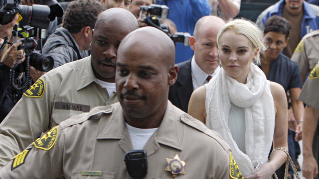 Lindsay Lohan's Probation Has Been Revoked
