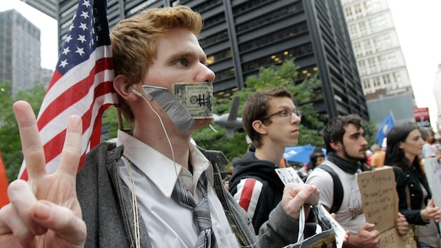 Occupy Wall Street Is Armed with Cash