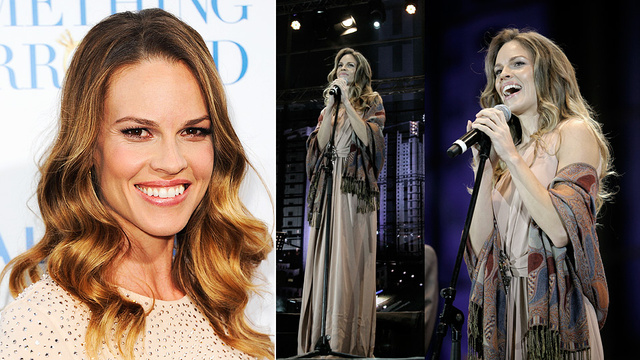 Murderer-Well-Wisher Hilary Swank Donating Fees to Charity