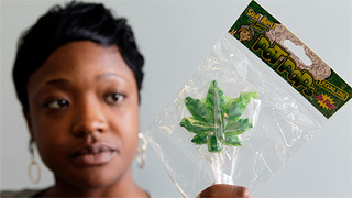 Parents Can't Chill Out About Pot-Shaped Lollipops