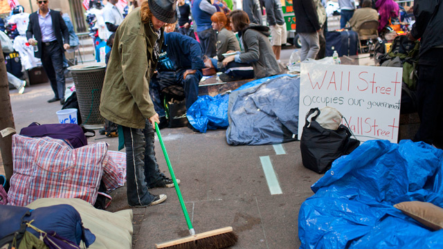 Pooping, Fornicating Protesters Smear Occupy Wall Street