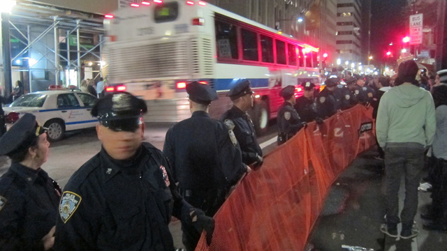 Ten Reportedly Arrested as Protesters Stand Off With Police