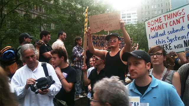 Live from Occupy Wall Street and the Radiohead Concert That's Not Happening
