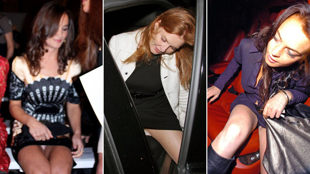 A Starlet's Guide to Dealing With Upskirt Photographs, Featuring Upskirt Photographs