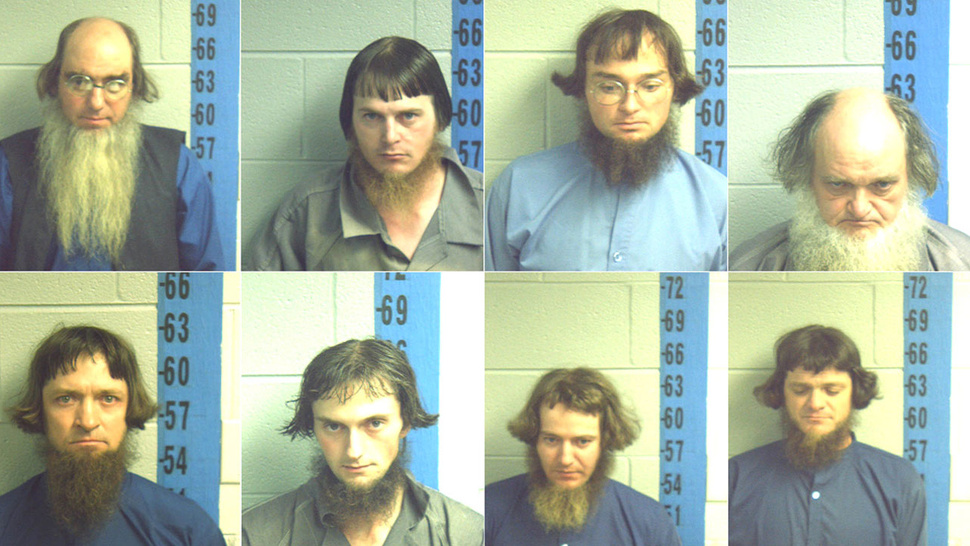 Outlaw Gang 'The Amish Eight' Jailed For Failing to Adhere to Basic Buggy Safety Laws