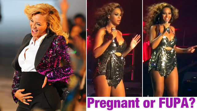 Did Beyonce Stuff Her Baby Bump? A Conspiracy Theory