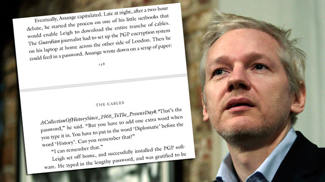 Wikileaks Freaks Out at Newspaper Over Its Own Dumbassery
