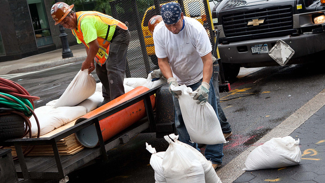 New York Gets Ready for Irene