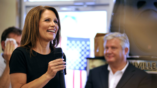 Michele Bachmann Gets Lost Inside Florida Sandwich Shop