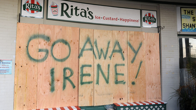 The Eastern Seaboard Prepares for Hurricane Irene