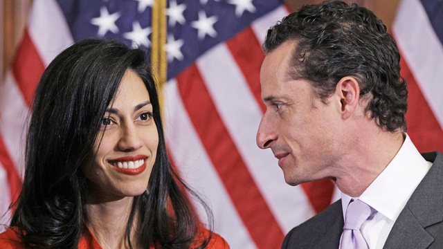 Anthony Weiner and Huma Are on a 'Babymoon'