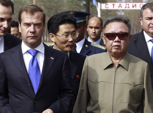 Kim Jong-il Says He's 'Having a Fun Trip' in Russia