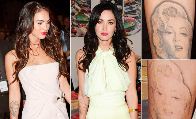 Megan Fox Explains Why She Removed Her Marilyn Monroe Tattoo
