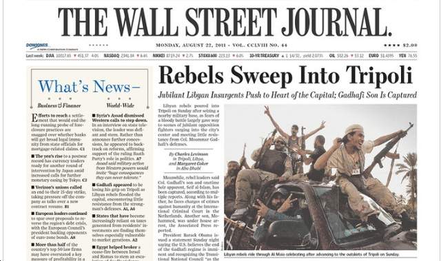 Every Newspaper Except WSJ Dying, Reports WSJ