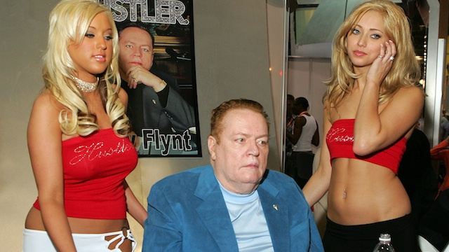 Larry Flynt Writes Shortest, Orneriest Essay on Online Privacy Ever