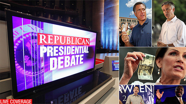 Live: The Iowa GOP Debate