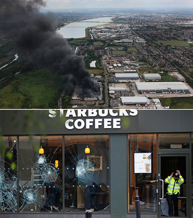 The London Riots Spread Across the Country