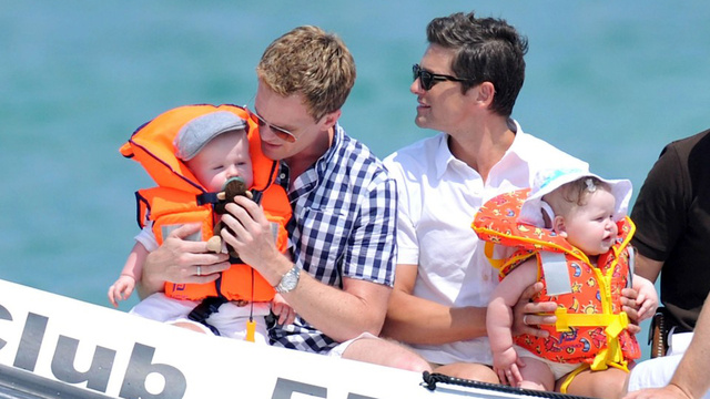 Neil Patrick Harris and Elton John's Big Gay Family Cruise