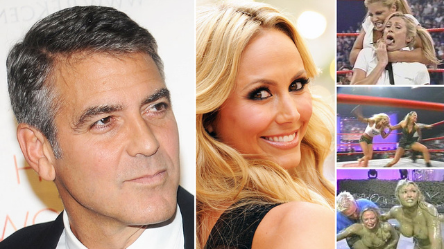 George Clooney's Female Wrestler Lover Could Totally Beat You Up