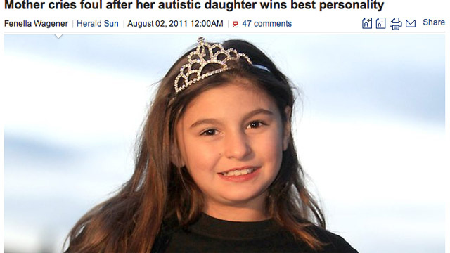 Pageant Mom Outraged at 'Best Personality' Award: 'I Didn't Understand Why'