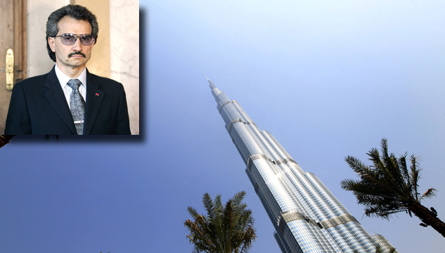 Virile Saudi Prince to Erect World's Tallest Tower