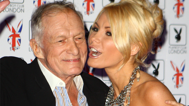 Hugh Hefner Lasts Two Seconds in Bed