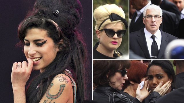 Amy Winehouse's Funeral Is Under Way